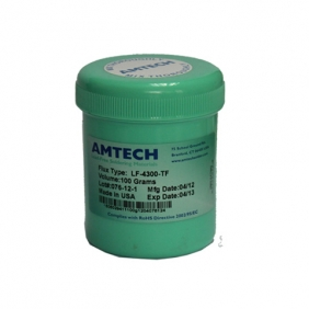 Original Amtech LF-4300-TF Water-washable Soldering Flux 100g On Sale