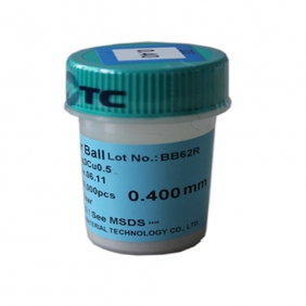 0.4mm PMTC Lead Free BGA Solder Ball 250K pcs