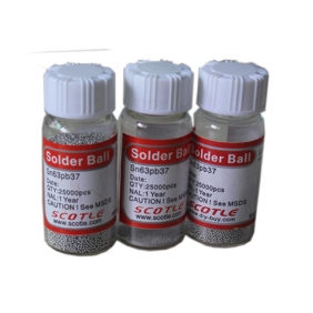 Scotle Leaded BGA solder ball 0.45mm 25K pcs