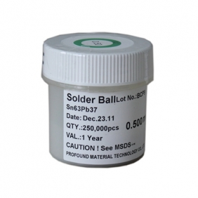 0.5mm Profound Leaded BGA Solder Ball 250K pcs