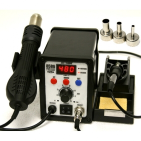 ATTEN AT8586 2 in 1 Soldering Station for SMD Rework