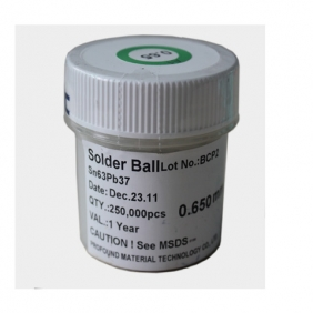 Leaded BGA Solder Ball 0.65mm 250K pcs