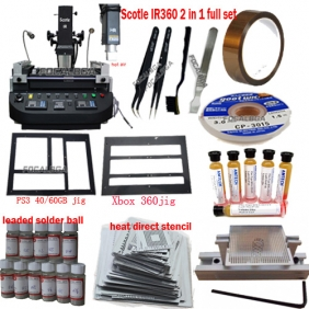 Scotle IR360 PRO 2 IN 1 BGA Rework Station+ Must Rework Accessories with Best Price