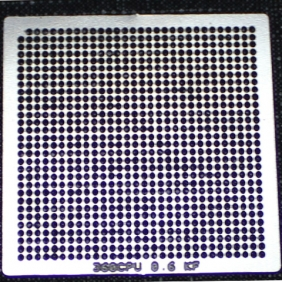Buy Latest XBOX 360 CPU Heat Direct BGA Stencil/BGA Reball Stencil