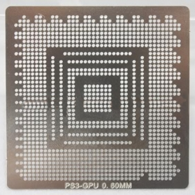 Buy PS3 GPU Heat Direct BGA Stencil/BGA Reball Stencil