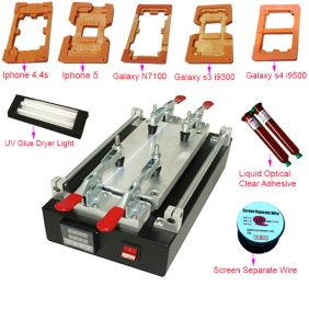 High Quality Full Set LCD Separator Machine & Repair LCD Machine for LCD Touch Screen Repair with Best Price
