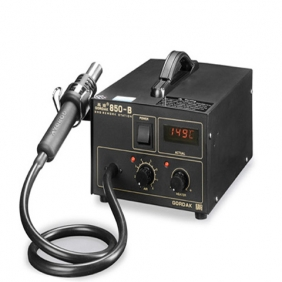 Gordak 850B SMD Rework Station Soldering Station Hot Air Gun