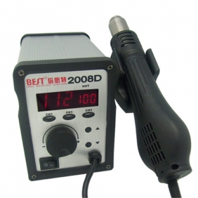 BEST-2008D Lead Free Hot Air Soldering Station with Single LED Display