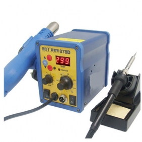 BEST-878D 2 in 1 Lead Free Soldering Station with Single LED Display