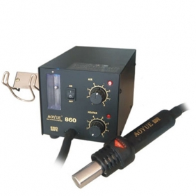 Aoyue 860 SMD Rework Station ESD Safe Hot Air Soldering Station