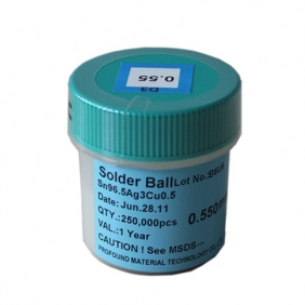 Profound Lead Free BGA Solder Ball 0.55mm 250K pcs on Sale