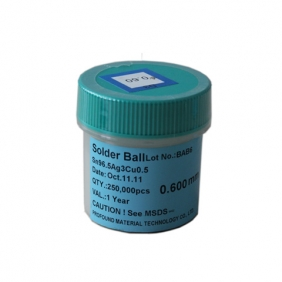Lead Free BGA Solder Balls 0.6mm  250K pcs