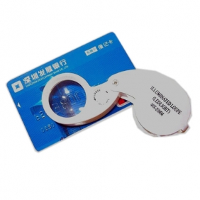40X Magnifier with 2 LED Lights