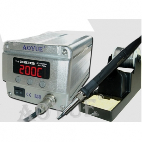 AOYUE INT 3233 Digital Lead Free Soldering Iron Station Mini Size