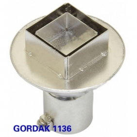 GORDAK 1136 Hot Air Nozzle for PLCC 20x20mm