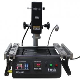 Scotle HR6000 BGA Rework Station for Repair Notebook, Cell Phones, Xbox 360
