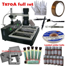 T870A Infrared BGA Rework Station + Free Gift Package Rework Acessories