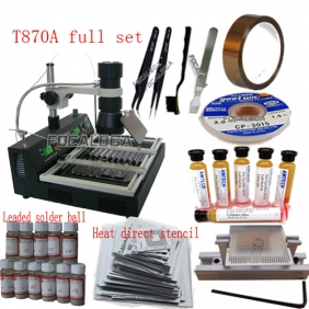 T870A Infrared BGA Rework Station + Must SMD Rework Accessories Free Gift