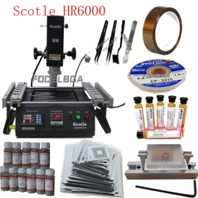Scotle HR6000 Full Set + Must Need SMD Rework Accessories Free Gift