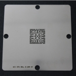 Latest WII CPU 90*90mm BGA Reballing Stencil for Wii Old Version